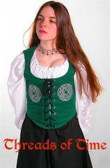 Celtic Wreath Bodice