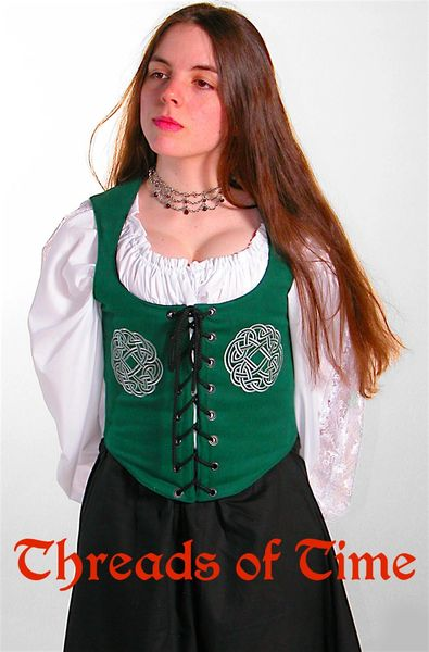 Celtic Wreath Bodice