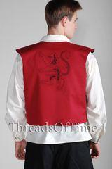 Rampant Lion Short Vest