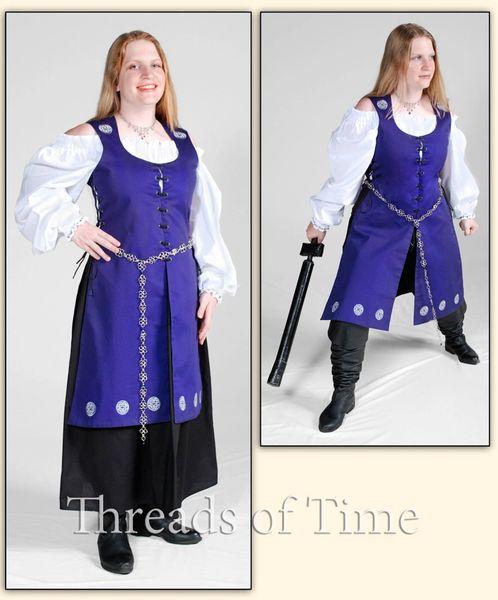 Lady Long Vest - Celtic