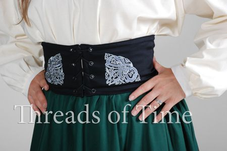 Celtic Dogs Wench Belt