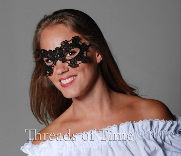 Lace Mask - Snowflake A