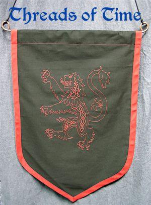 Scottish Lion Banner
