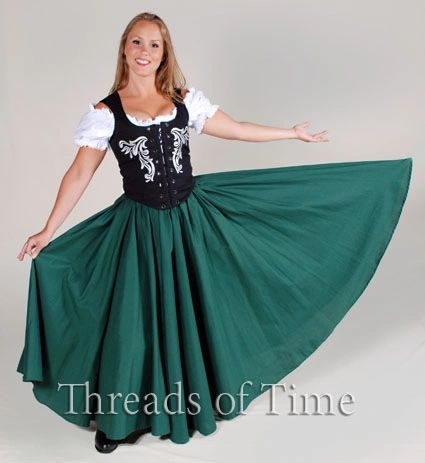Circle Skirt / Panel Circle Skirt with Pockets
