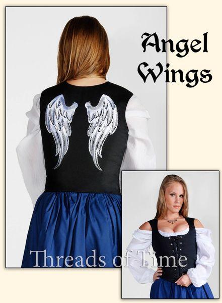 Wing Bodices - Angel, Butterfly, Dark Angel, Tribal