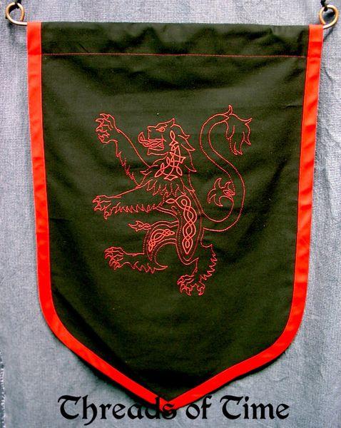 Scottish Lion Wall Banner
