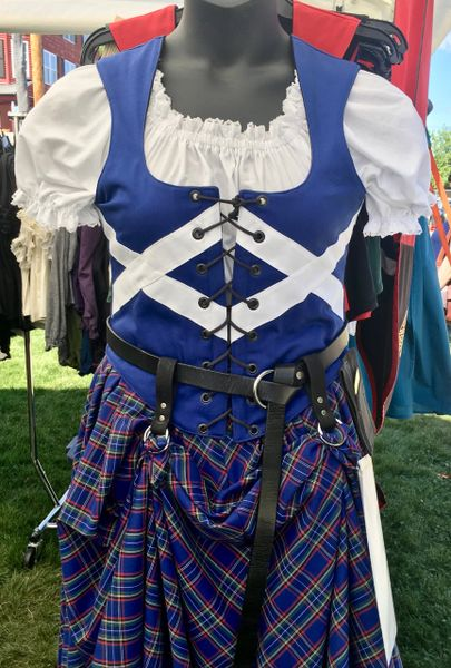 Saltire / St. Andrews Cross Bodice