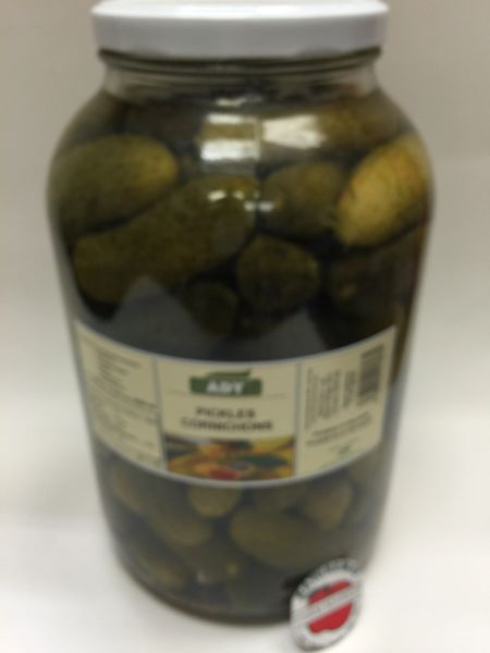 CZ_ADY pickled Cucumber Large Jar_No Shipping_Pick up ONLY