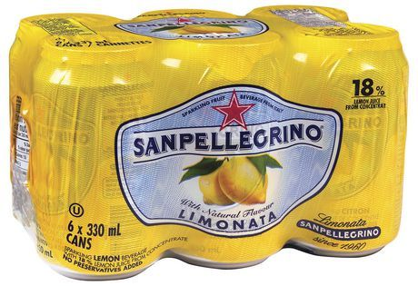 Drinks_San Pellegrino Limonata Sparkling Lemon Beverage 6 x 330mL