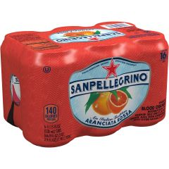 Drinks_San Pellegrino 6 Pack Blood Orange Beverage 6 x 330ml