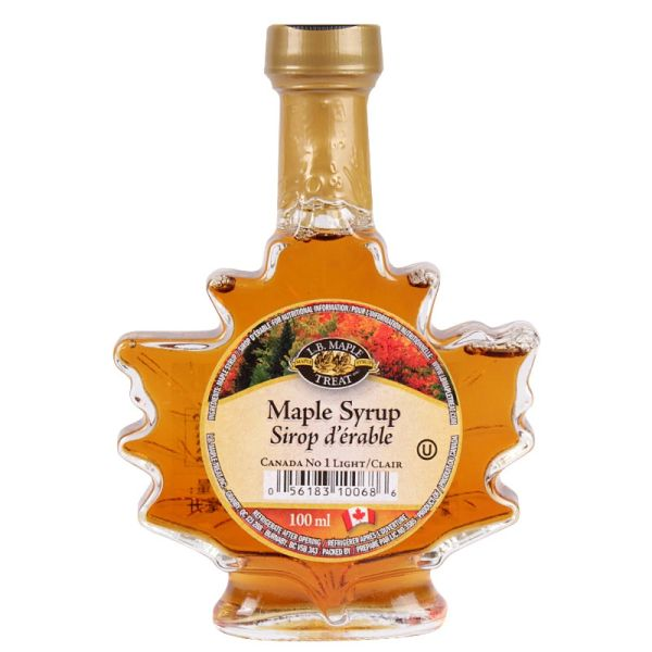 GIFT_L. B. Maple Syrup Maple Leaf Bottle No 1 Light 100mL 顶级100%【回国必买清单】纯枫叶糖浆 100毫升