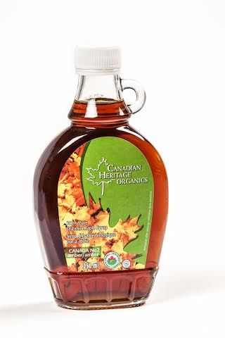 Canadian Heritage Organic Maple Syrup [Medium] 250ml 加拿大有机枫糖浆 250毫升装