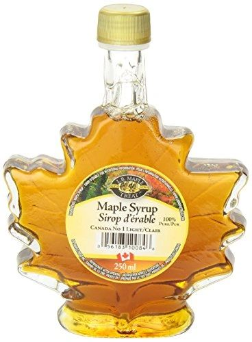 L. B. Maple Syrup Maple Leaf Bottle No 1 Light 250mL 【回国必买清单】顶级100%纯枫叶糖浆 250毫升