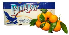 Blue Jay Satsuma mandarin oranges 蓝鸟牌有叶无籽甜柑橘3磅袋