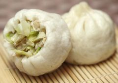 Homemade_Pork & Vegetable Bun 4Pcs 纯手工制作【新鲜菜肉包】4个袋
