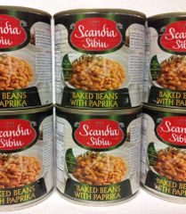 RO_Scandia Sibiu Baked Beans With Paprika 400 g