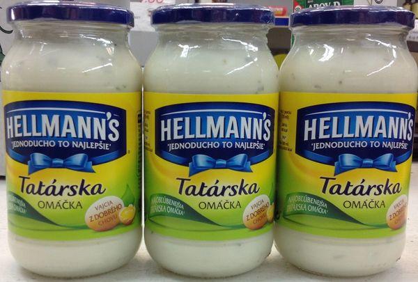 CZ_Hellmanns Tatarska Omaca 420g