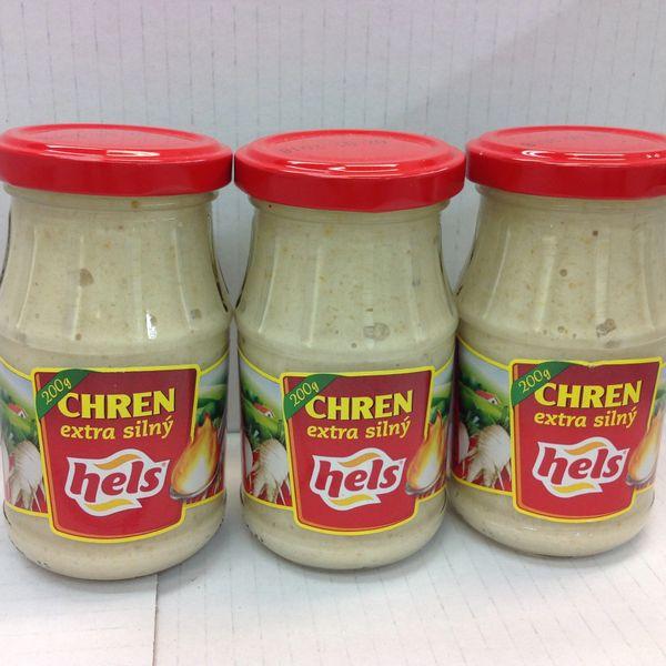 CZ_ Hels Chren extra silly horseradish 200g