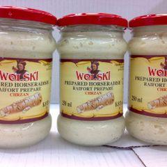 POL_Wolski Prepared Horseradish 250ml