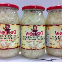 POL_Wolski Pickled Celery Salad 500ml (No Shipping, Pick-Up Only)