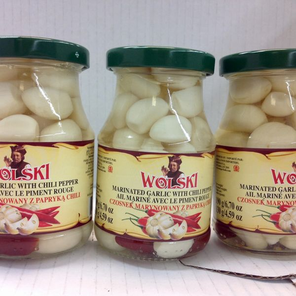 POL_Wolski Marinated Garlic (No Shipping, Pick-Up Only)