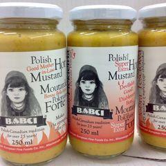 POL_Babci Hot Mustard 250g