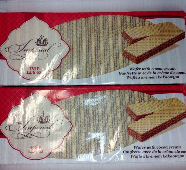 POL_Imperial Wafer With Cocoa CreamWafer 415g