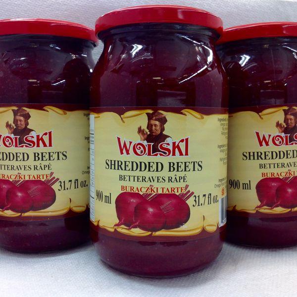 POL_Wolski Shredded Beets 900ml (No Shipping, Pick-Up Only)