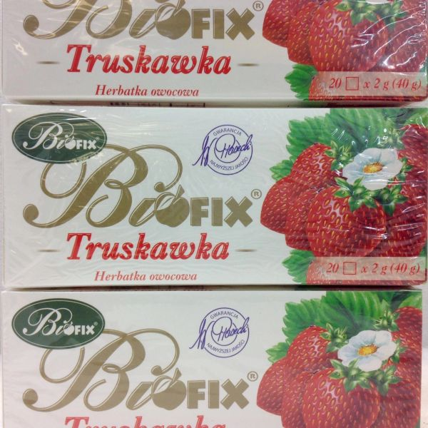 POL_Biofix Strawberry Fruit Tea 40g