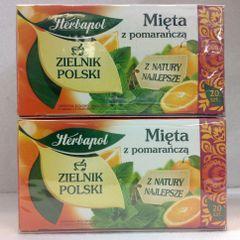POL_Herbapol Mieta z Pomarancza Tea 30g