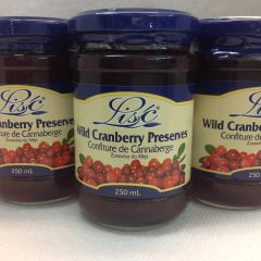 POL_ Lisc Pure Cranberry Jam 250ml