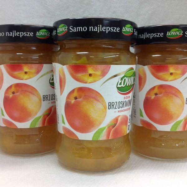 POL_Lowicz Peach Fruit Spread 280g