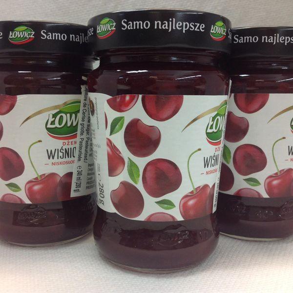 POL_Lowicz Sour Cherry Spread 280g