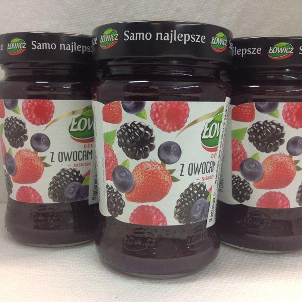 POL_Lowicz Forest Fruit Spread 280g