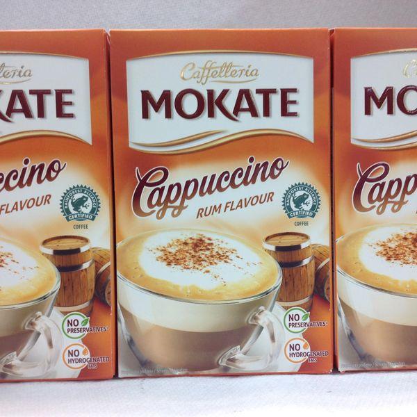 POL_Caffetteria Mokate Cappuccino Rum Flavour 150g