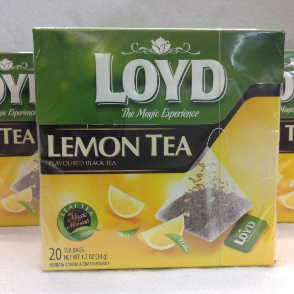 POL_Loyd Lemon Tea 20 tea bags