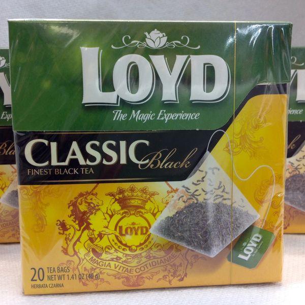 POL_Loyd Classic Finest Black Tea 20 tea bags