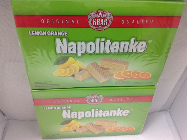 CRO_Kras Lemon Orange Napolitanke 330g