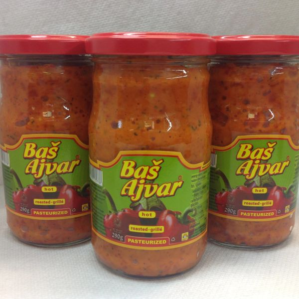 SER_Bas Ajvar 290 ml (No Shipping, Pick-Up Only)