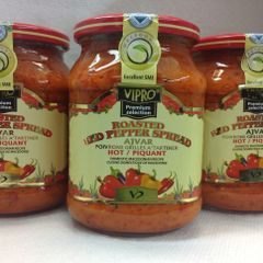 SER_Vipro Roasted Red Hot Peper Spread 720g (No Shipping Pick-up Only)