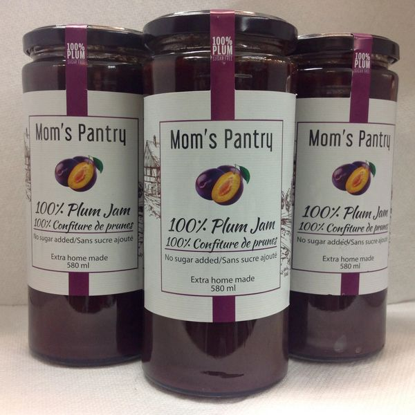 SER_Mom's Pantry Plum Jam 580 ml