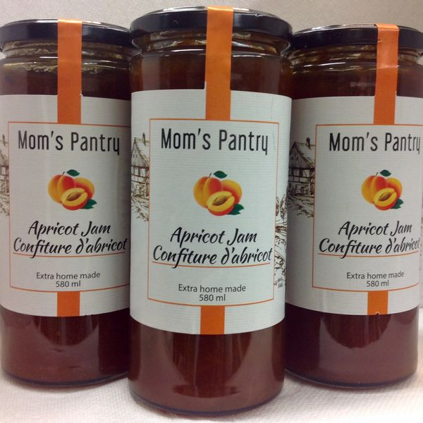 SER_Mom's Pantry Apricot Jam 580 ml