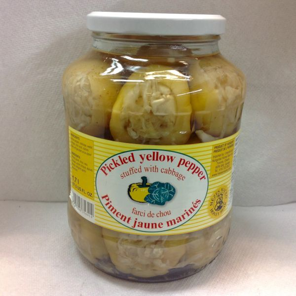 RO_Honey Bear Pickled Yellow Pepper with Cabbage 1700ml