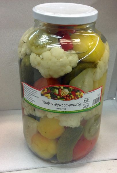 RO_Pickled Mixed Vegetables 4000ml