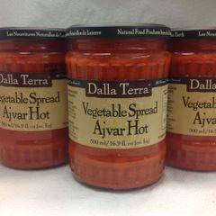 Dalla Terra Ajvar Hot Vegetable Spread 500ml