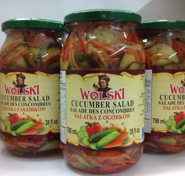 POL_Wolski Cucumber Salad 796ml (No Shipping, Pick-Up Only)