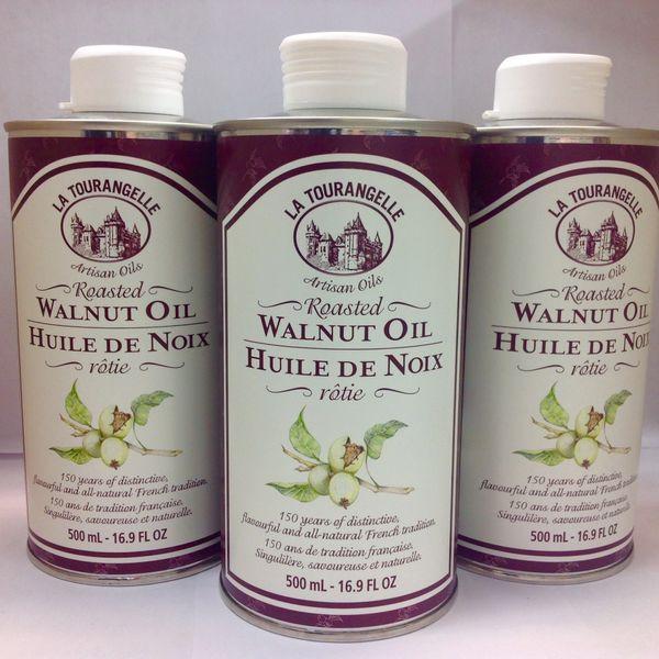 La Tourangelle Walnut Oil 500ml 【回国必买清单】核桃油500毫升(买五送一)