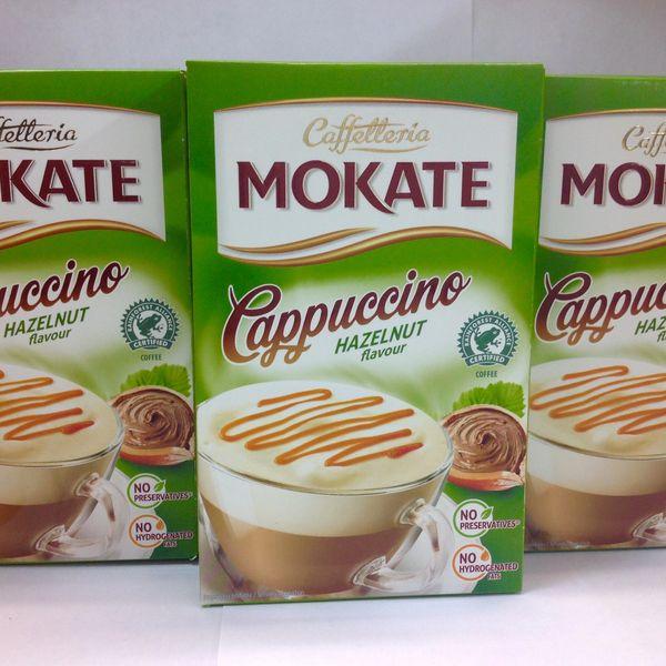 POL_Caffetteria Mokate Cappuccino Hazelnut Flavour 150g