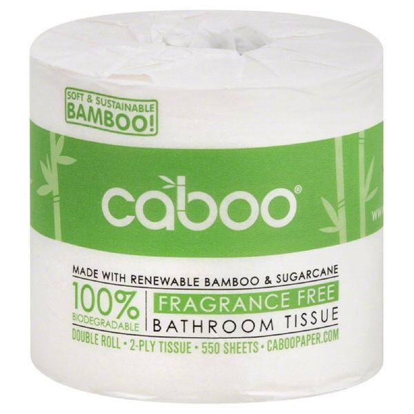 Caboo Single Bathroom Tissue Roll