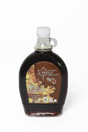GIFT_Canadian Heritage 100% Organic Maple Syrup [Dark] 500mL 加拿大有机枫糖浆 500毫升装
